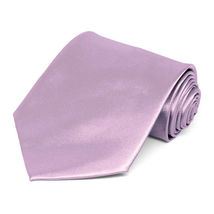 English Lavender Solid Color Necktie