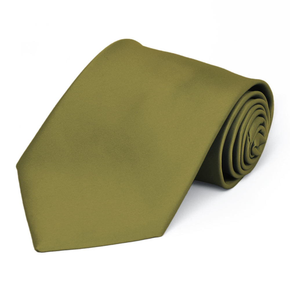 Fern Premium Solid Color Necktie