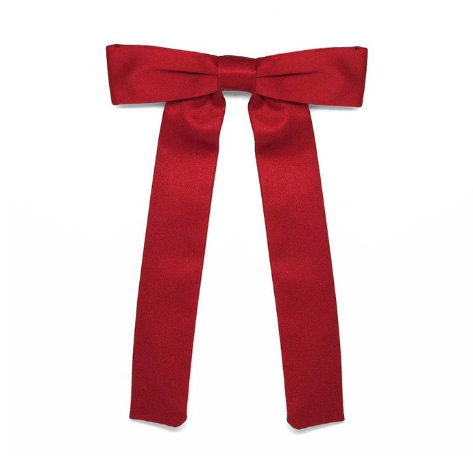 Festive Red Kentucky Colonel Tie
