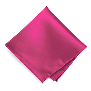 Fuchsia Solid Color Pocket Square