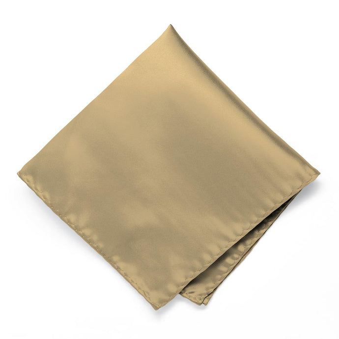 Golden Champagne Premium Pocket Square