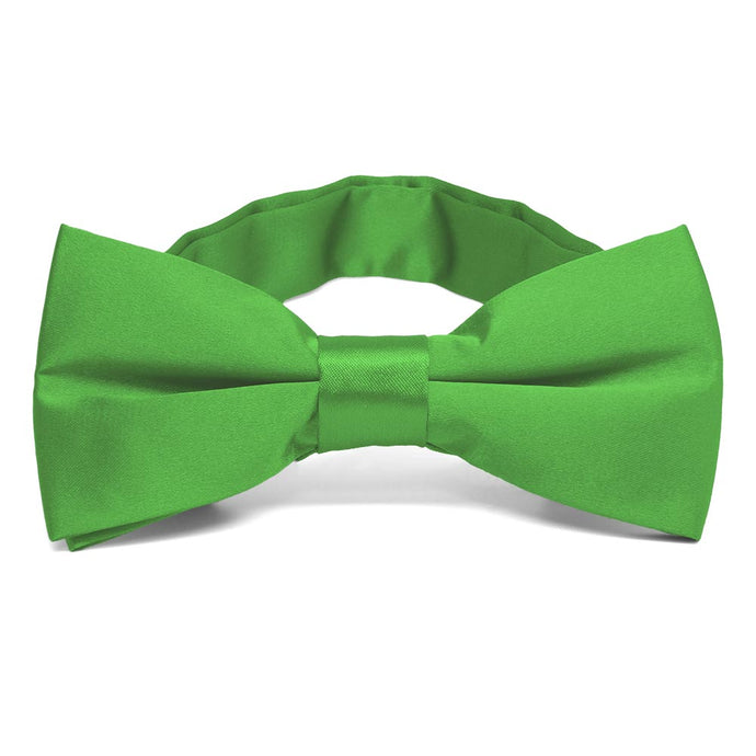 Grass Green Band Collar Bow Tie