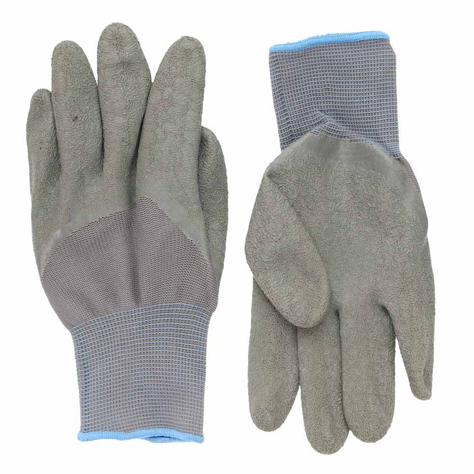 Gray Gardening Gloves