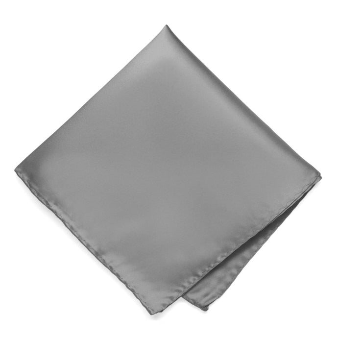 Gray Premium Pocket Square