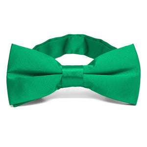 Green Band Collar Bow Tie