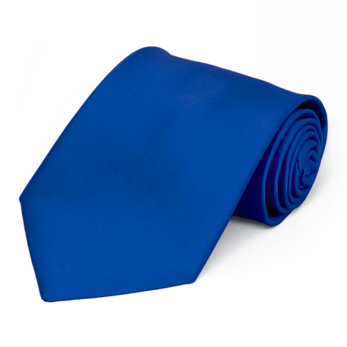 Horizon Blue Premium Solid Color Necktie