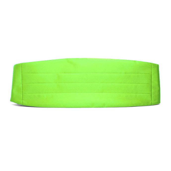 Hot Lime Green Cummerbund
