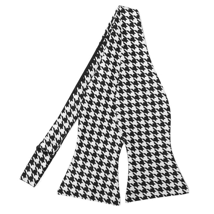 Houndstooth Self-Tie Bow Tie