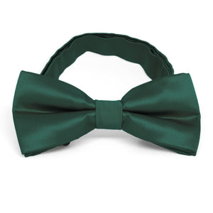 Hunter Green Band Collar Bow Tie