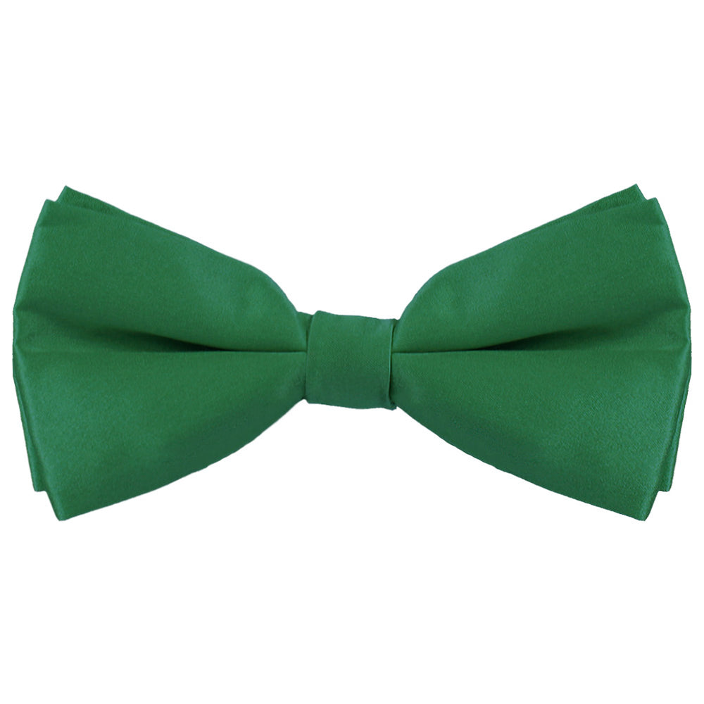 Hunter Green Silk Bow Tie