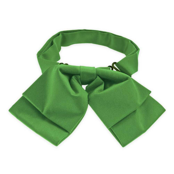 Irish Green Floppy Bow Tie