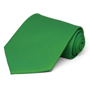 Irish Green Solid Color Necktie