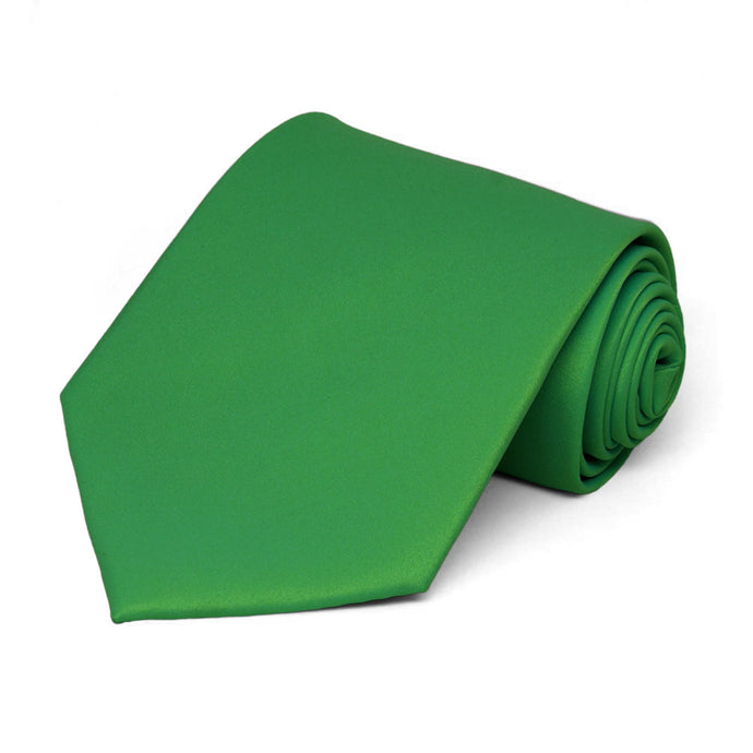 Irish Green Staff Tie