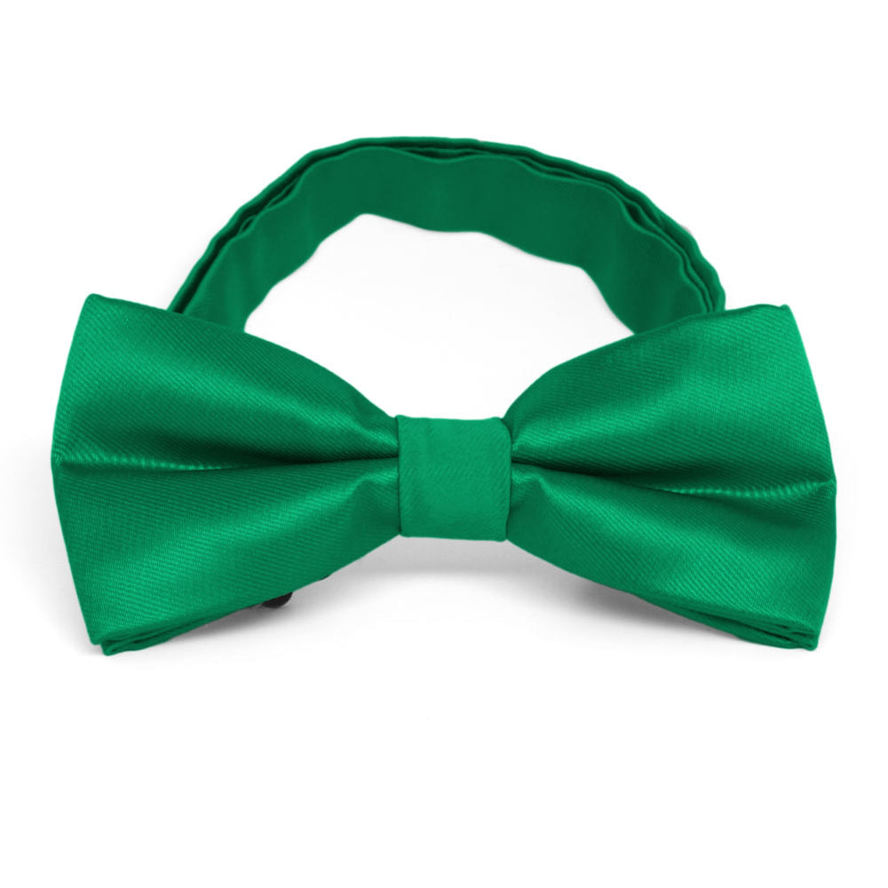 Kelly Green Band Collar Bow Tie