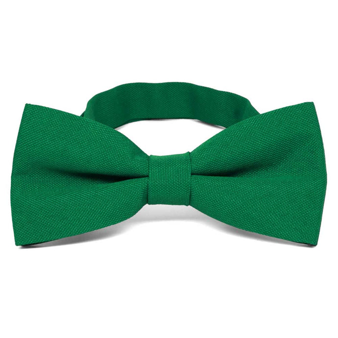 Kelly Green Matte Finish Bow Tie