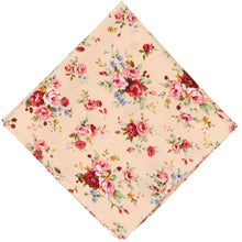 Load image into Gallery viewer, Laguna Floral Cotton Pocket Square