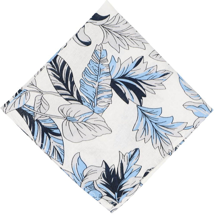 Lahaina Floral Cotton Pocket Square