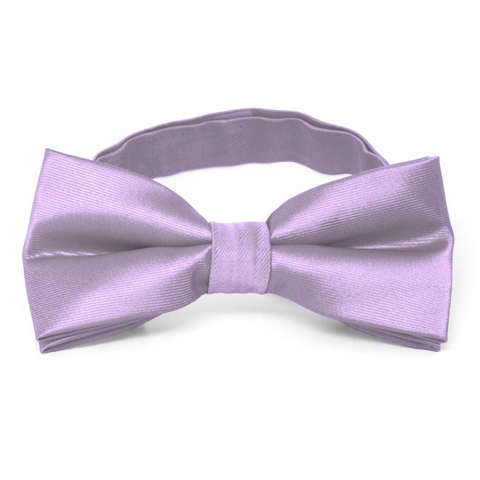 Lavender Band Collar Bow Tie
