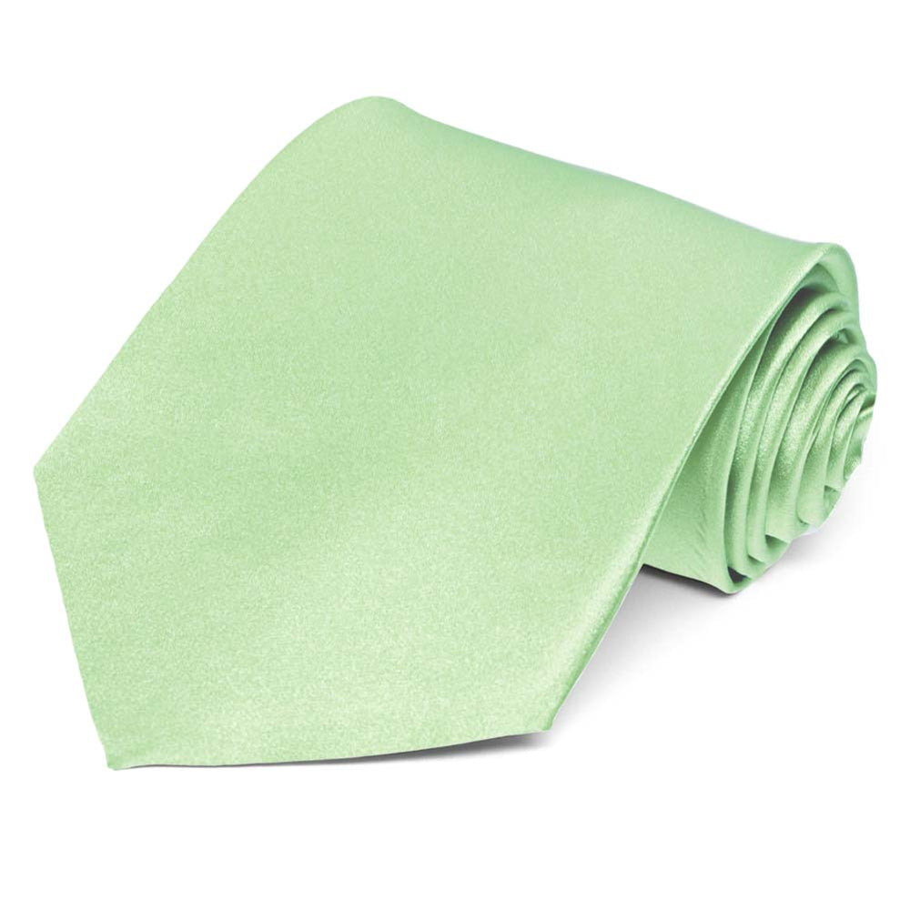 Light Mint Silk Necktie