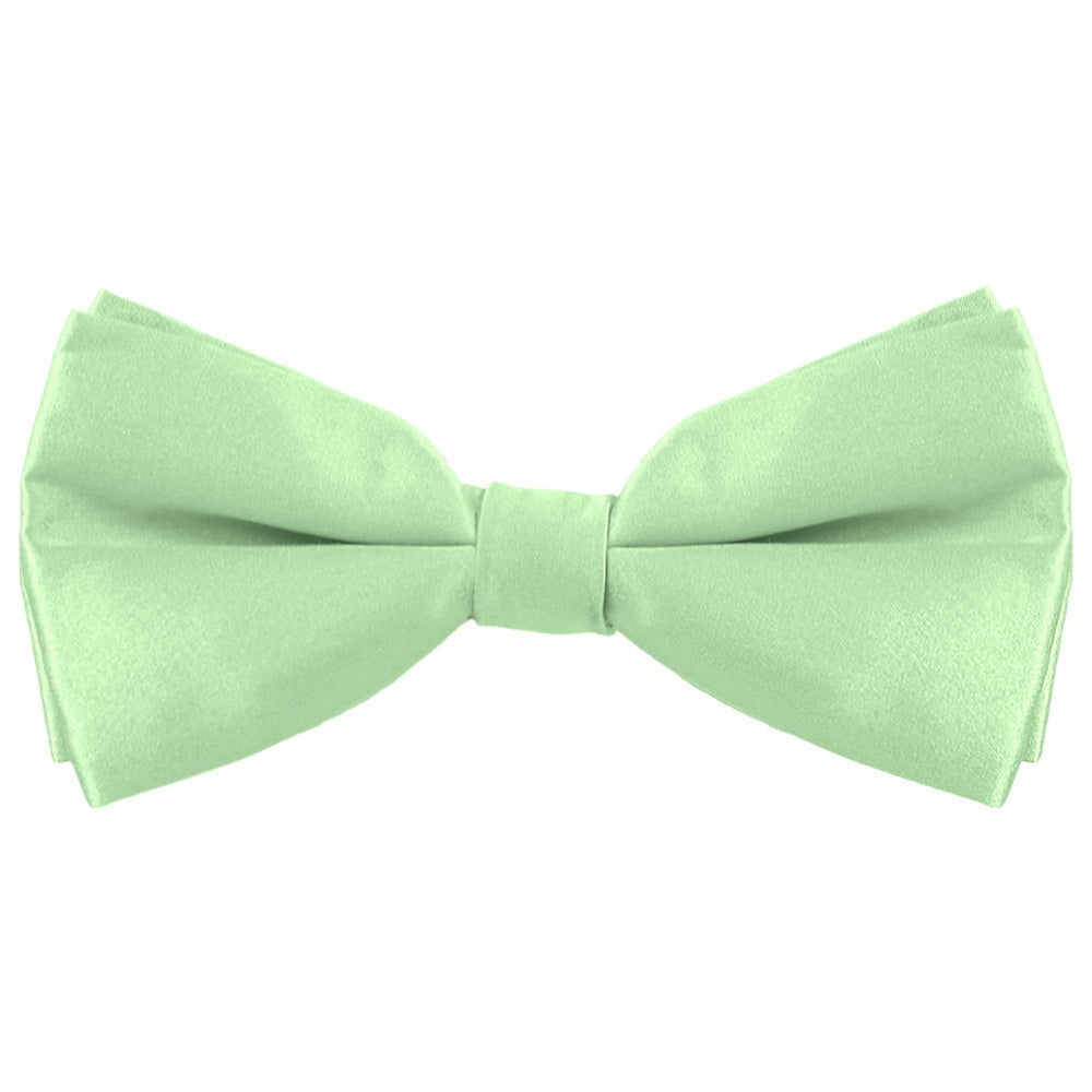 Light Mint Silk Bow Tie