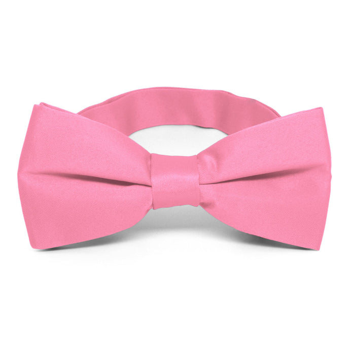 Light Pink Band Collar Bow Tie