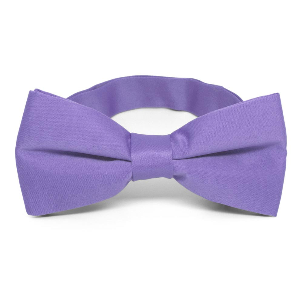 Light Purple Band Collar Bow Tie