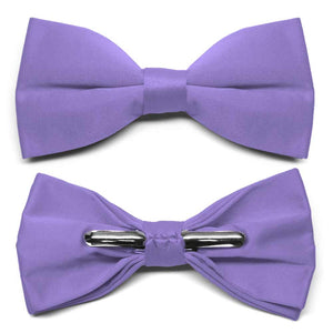 Light Purple Clip-On Bow Tie