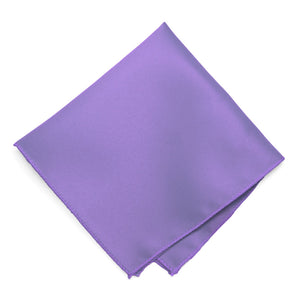 Light Purple Solid Color Pocket Square