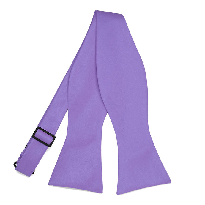 Light Purple Self-Tie Bow Tie
