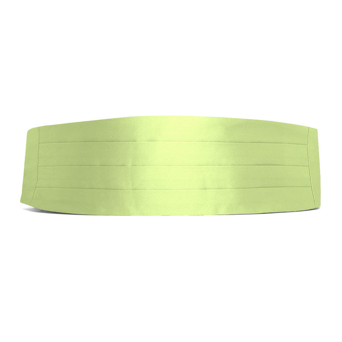 Lime Green Cummerbund