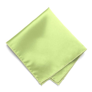 Lime Green Solid Color Pocket Square