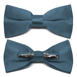 Loch Blue Clip-On Bow Tie