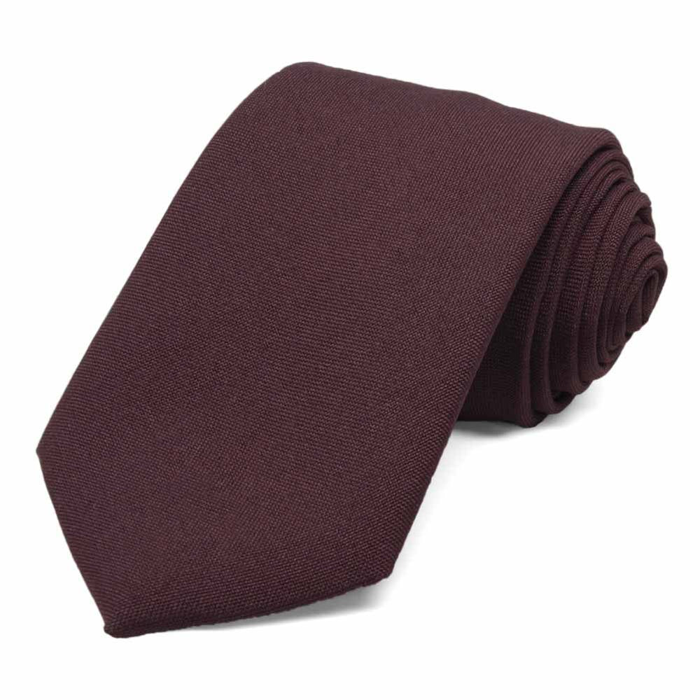 Men's Maroon Uniform Necktie