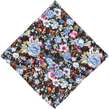 Load image into Gallery viewer, Maywood Floral Cotton Pocket Square
