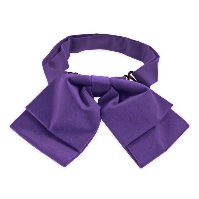 Medium Purple Floppy Bow Tie