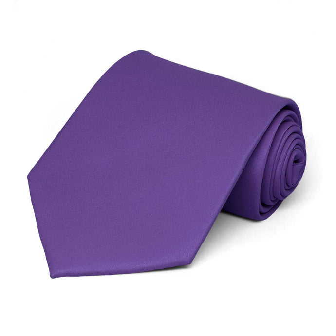 Medium Purple Staff Tie