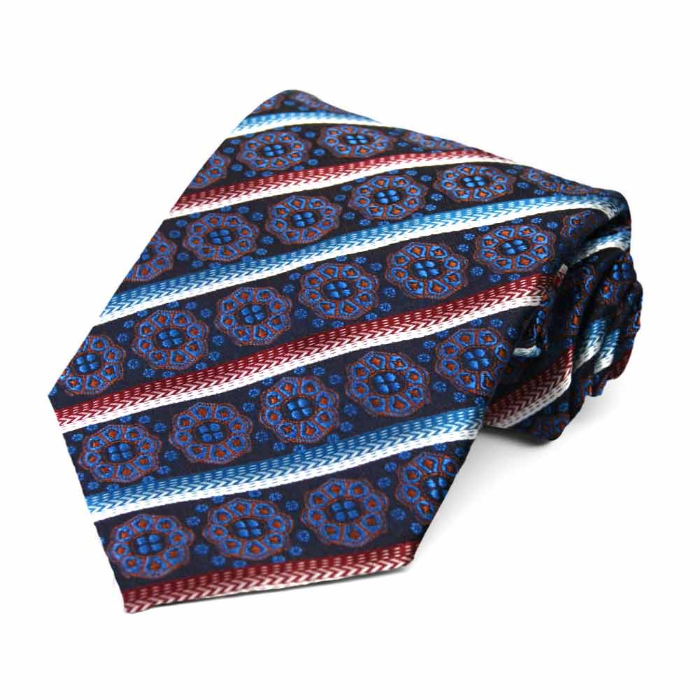 Regent Morris Neckwear Institute Paisley Silk Pocket Square