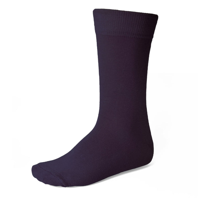 Men's Eggplant Purple Socks