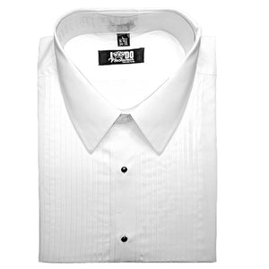 Men's Pleated Tuxedo Shirt
