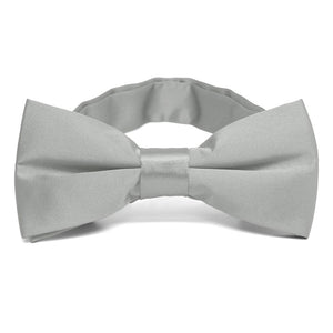 Mercury Silver Band Collar Bow Tie