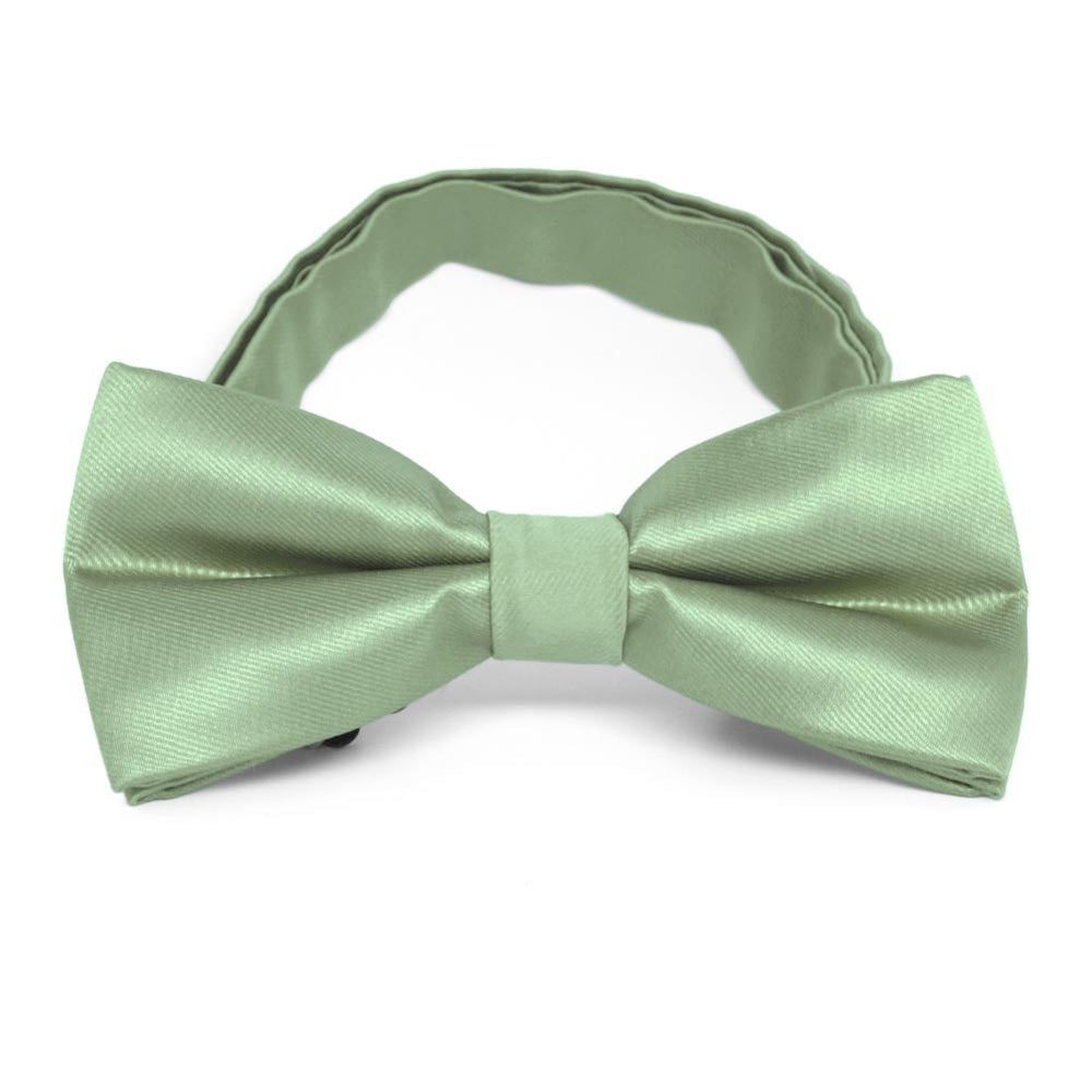 Mint Green Band Collar Bow Tie