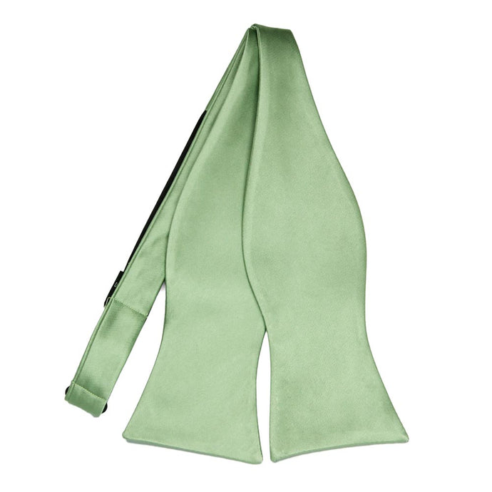 Mint Green Self-Tie Bow Tie