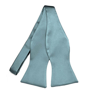 Mystic Blue Premium Self-Tie Bow Tie