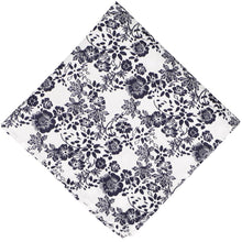 Load image into Gallery viewer, Monterey Floral Cotton Pocket Square
