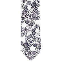 Load image into Gallery viewer, Monterey Floral Cotton Narrow Necktie