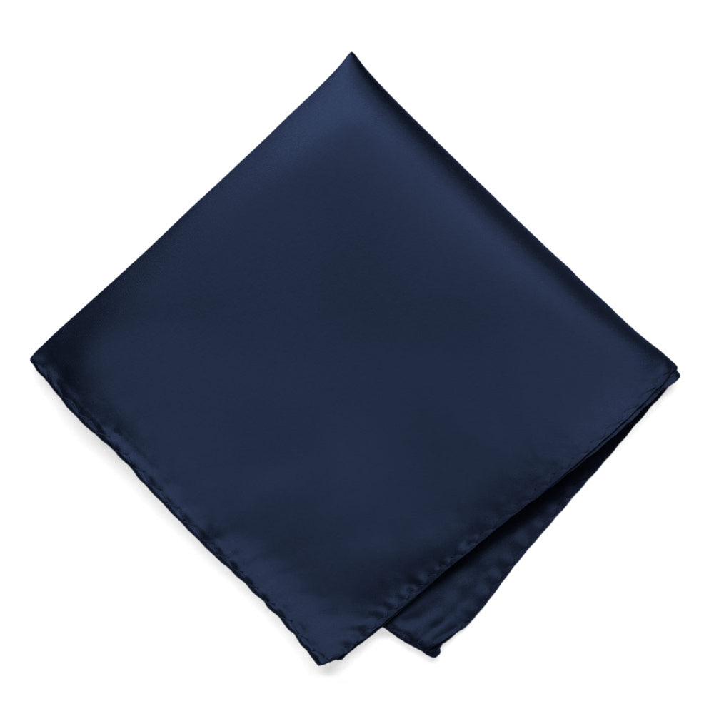 Navy Blue Premium Pocket Square