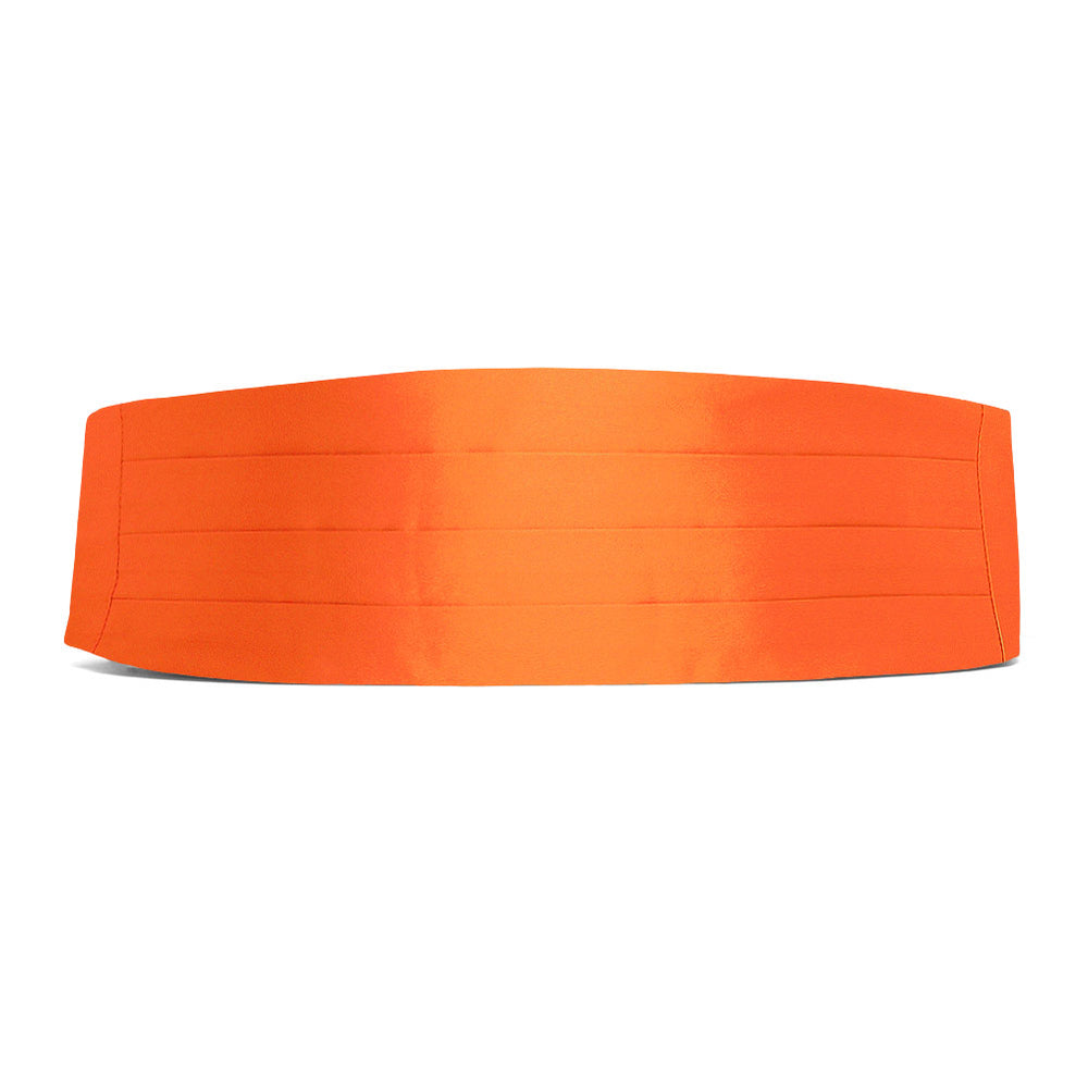 Neon Orange Cummerbund