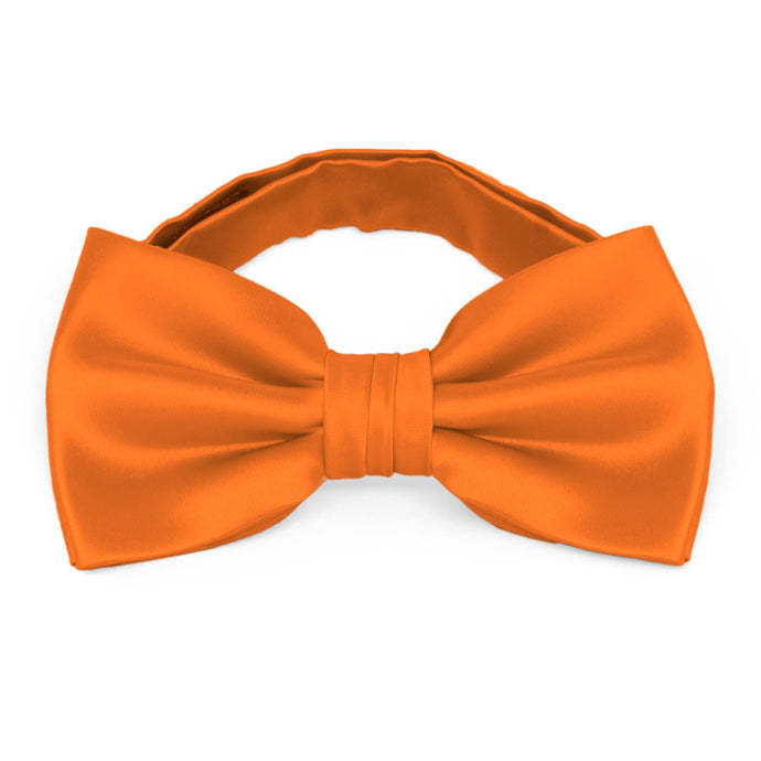 Orange Premium Bow Tie