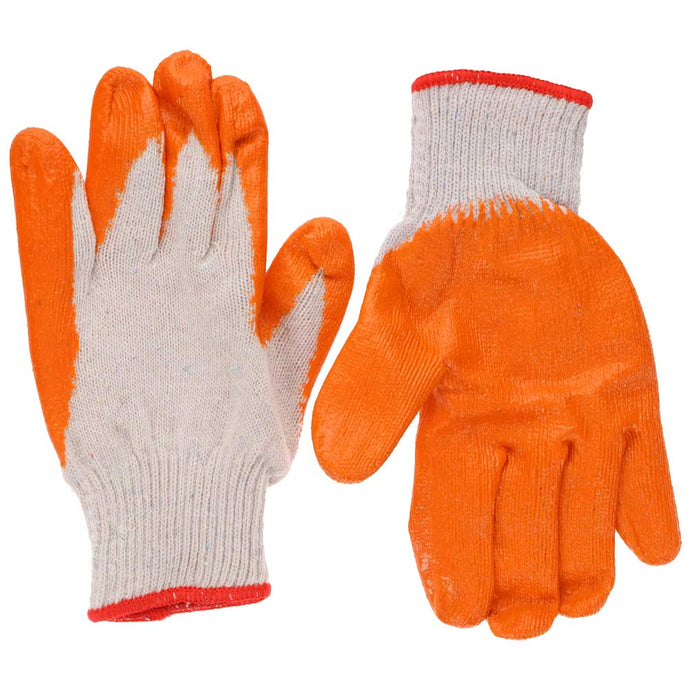 Orange and White Gardening Gloves