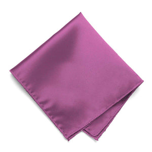 Orchid Solid Color Pocket Square